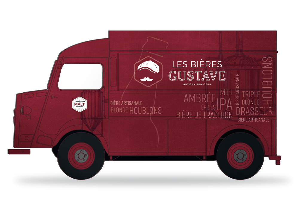 LE BEER-TRUCK GUSTAVE